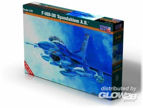 Mistercraft F-16D-30 Spadahlem A.B. 1:72 (D-82)