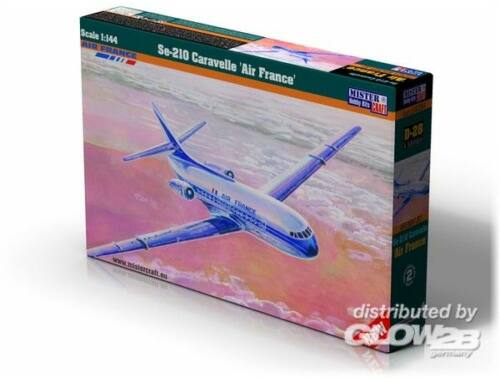 Mistercraft Se-210 Caravelle Air France 1:144 (D-28)