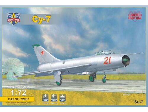 Modelsvit Sukhoi Su-7 Soviet fighter 1:72 (72007)