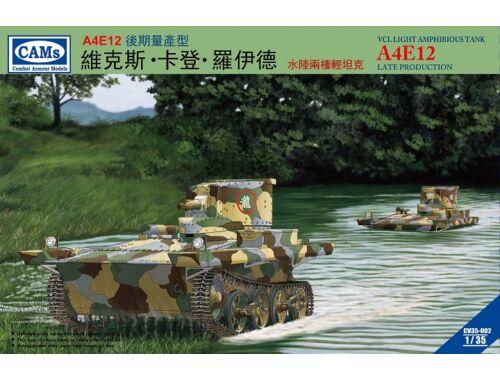 Riich VCL Light Amhibious Tank A4E12 Late Prod Production(Central Troops,) 1:35 (CV35002)