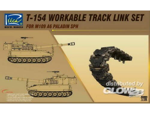 Riich T-154 Workable Track set for M109A6 SPH 1:35 (RE30001)
