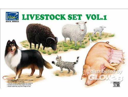 Riich Livestock Set Vol.1 1:35 (RV35007)