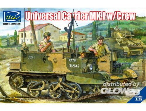 Riich Universal Carrier Mk.1 w/crew 1:35 (RV35011)