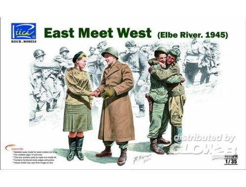 Riich East meet West (Elbe River.1945) 1:35 (RV35014)