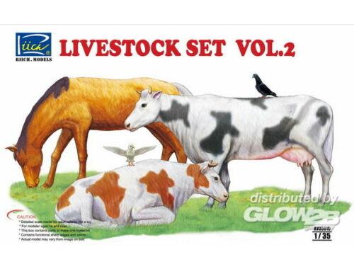 Riich Livestock Set Vol.2 1:35 (RV35015)
