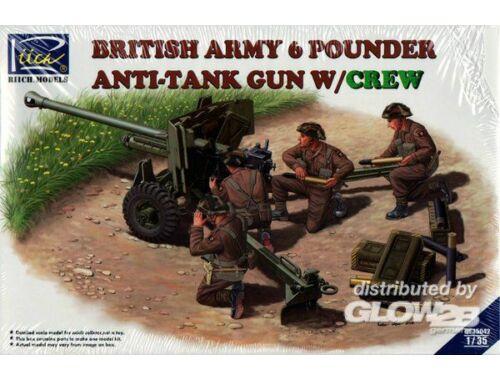 Riich British Army 6 Pounder Infantry Anti-tan 1:35 (RV35042)