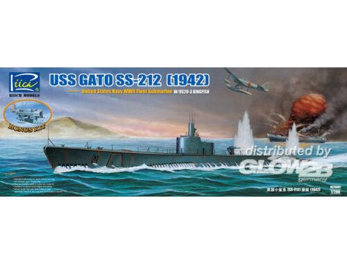 Riich USS Gato SS-212 Fleet Submarine 1942 1:200 (RS20001)