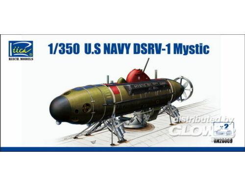 Riich U.S.NAvy DSRV-1 Mystic(Model Kits X2) 1:350 (RN28009)