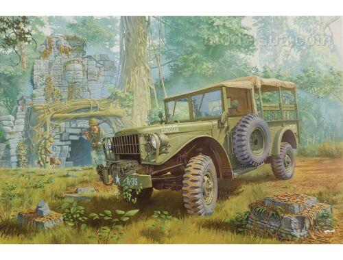 Roden Dodge M-37 3/4 ton 4x4 cargo truck 1:35 (806)