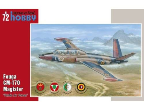 Special Hobby Fouga Magister Exotic Air Forces 1:72 (72284)