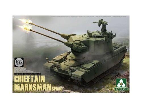 Takom British Air-defense Weapon System Chieft Chieftain Marksman SPAAG 1:35 (2039)