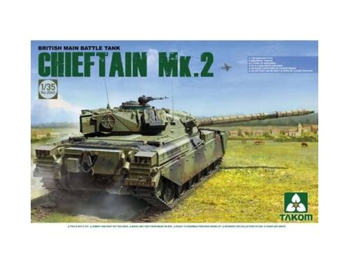 Takom British main Battle Tank Chieftain Mk.2 1:35 (2040)