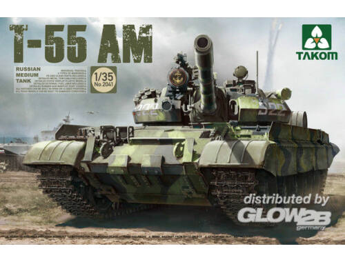 Takom Russian Medium Tank T-55AM 1:35 (2041)