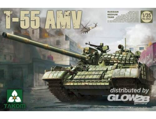 Takom Russian Medium Tank T-55AMV 1:35 (2042)