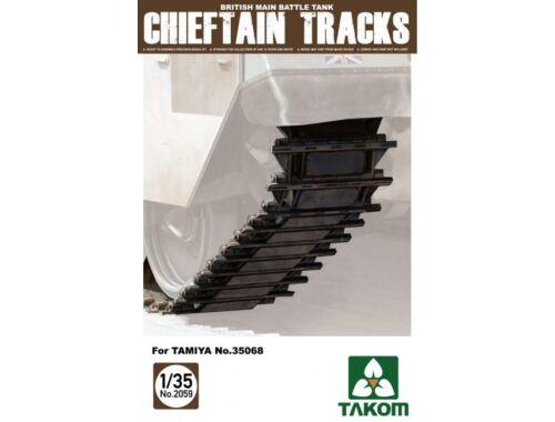 Takom British Main Battle Tank Chieftain Track for Tamiya Nr.35068 1:35 (2059)