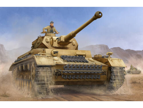 Trumpeter German Pzkpfw IV Ausf.F2 Medium Tank 1:16 (00919)