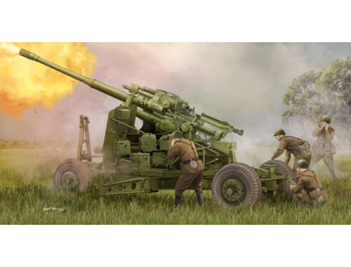 Trumpeter Soviet 100mm Air Defence Gun KS-19M2 1:35 (2349)