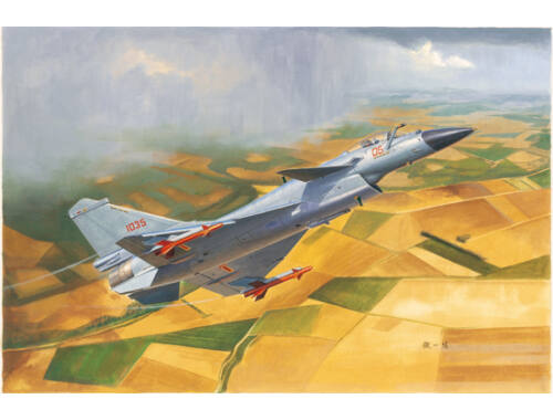 Trumpeter Chinese J-10B Fighter 1:72 (1651)