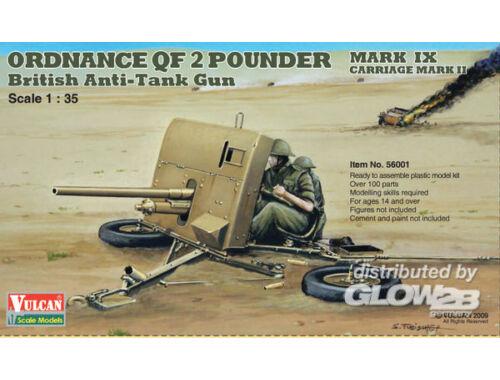 Vulcan 2 Pounder AT Gun 1:35 (56001)
