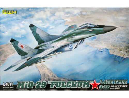 "Lion Roar MIG-29 9-12 ""Fulcrum"" Late Type 1:48 (L4811)"