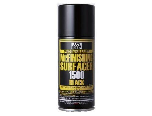 Mr.Hobby Mr.Finishing Surfacer Spray Acer 1500 Black B-526