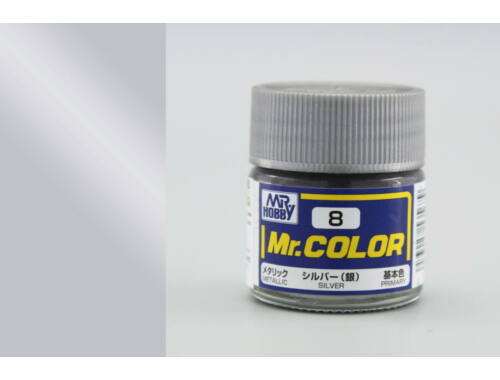 Mr.Hobby Mr.Color C-008 Silver