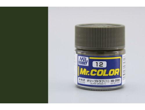 Mr.Hobby Mr.Color C-012 Olive Drab (1)