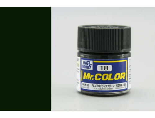 Mr.Hobby Mr.Color C-018 RLM70 Black Green