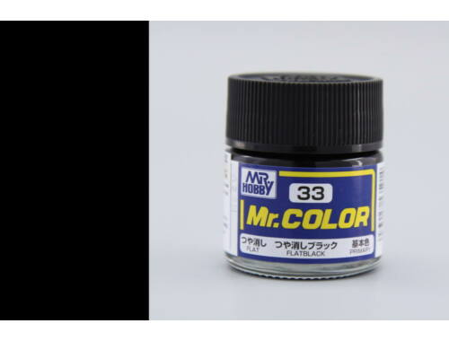 Mr.Hobby Mr.Color C-033 Flat Black