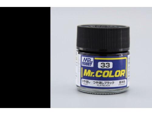 Mr.Hobby Mr.Color C-033 Flat Black