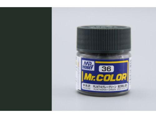 Mr.Hobby Mr.Color C-036 RLM74 Gray Green