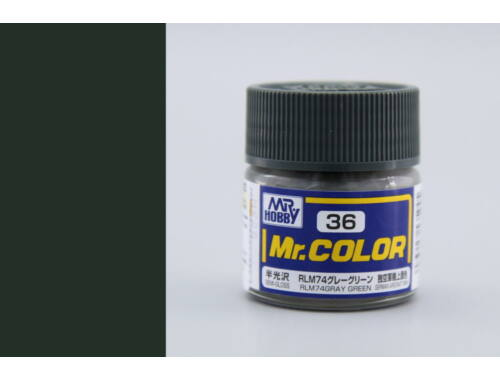 Mr.Hobby Mr.Color C-036 RLM74 Gray Green