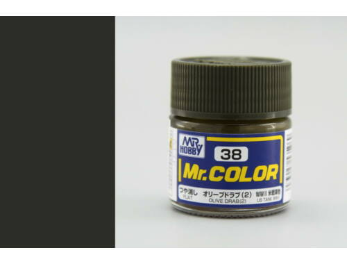 Mr.Hobby Mr.Color C-038 Olive Drab (2)