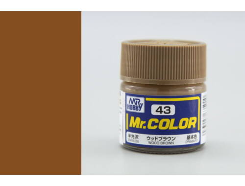 Mr.Hobby Mr.Color C-043 Wood Brown