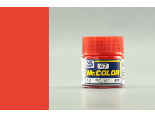Mr.Hobby Mr.Color C-047 Clear Red