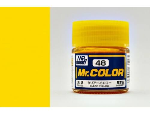 Mr.Hobby Mr.Color C-048 Clear Yellow