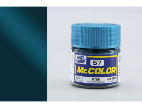 Mr.Hobby Mr.Color C-057 Metallic Blue Green