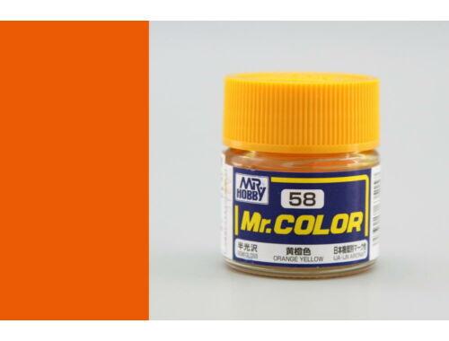 Mr.Hobby Mr.Color C-058 Orange Yellow