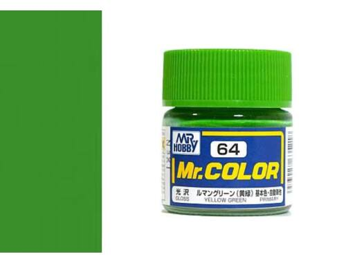 Mr.Hobby Mr.Color C-064 Yellow Green