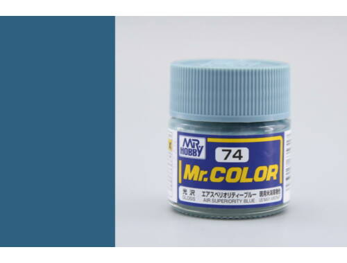 Mr.Hobby Mr.Color C-074 Air Superiorty Blue