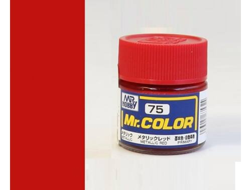 Mr.Hobby Mr.Color C-075 Metallic Red