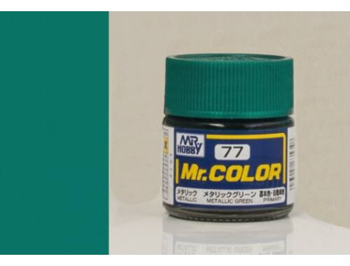 Mr.Hobby Mr.Color C-077 Metallic Green
