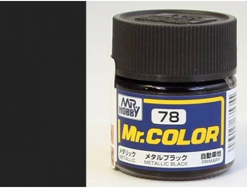 Mr.Hobby Mr.Color C-078 Metal Black