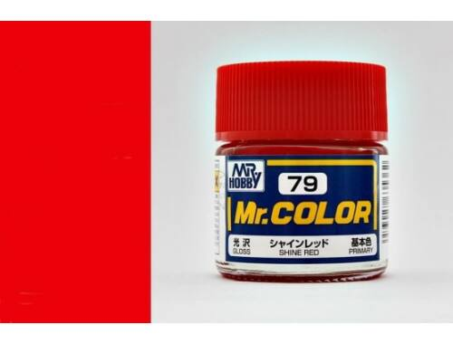 Mr.Hobby Mr.Color C-079 Shine Red