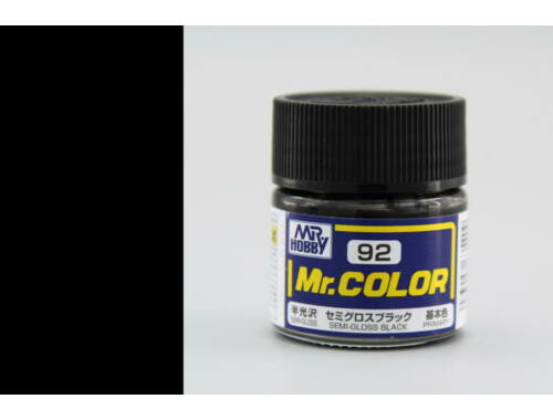 Mr.Hobby Mr.Color C-092 Semi Gloss Black