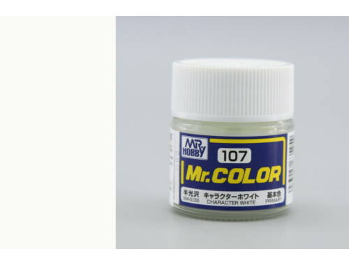 Mr.Hobby Mr.Color C-107 Character White