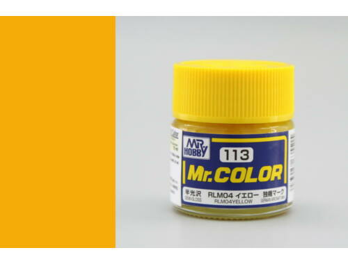 Mr.Hobby Mr.Color C-113 RLM04 Yellow