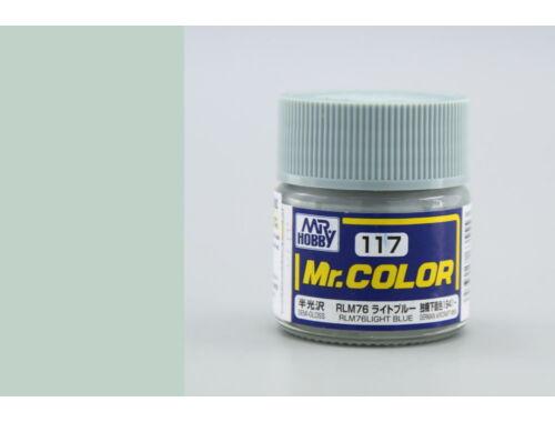 Mr.Hobby Mr.Color C-117 RLM76 Light Blue