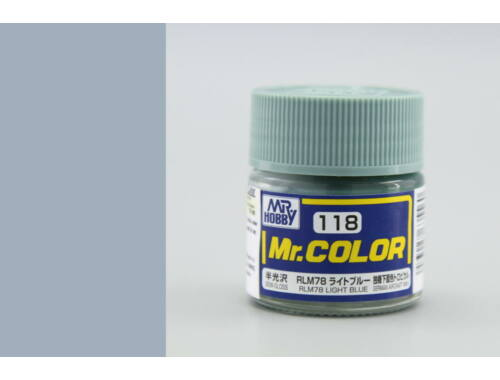 Mr.Hobby Mr.Color C-118 RLM78 Light Blue
