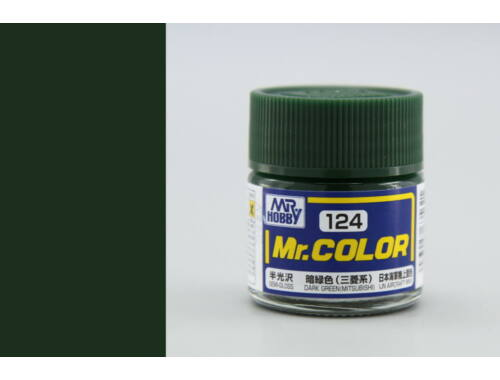 Mr.Hobby Mr.Color C-124 Dark Green (Mitsubishi)